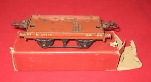 Vintage Hornby O Gauge No.1 Low Sided Wagon in Original Box