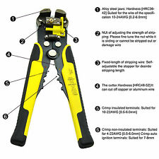 Automatic Wire Stripper Crimper Pliers Cable Cut Cutter Stripping Crimping Tool