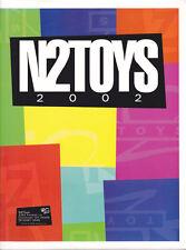 N2 Toys Folder Catalog 2002 Steve Irwin Matrix Rambo VIP Space Cadets Bullitt