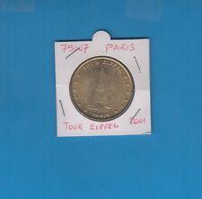 75 Paris Tour Eiffel N° 2  12 points   2001   Monnaie de Paris