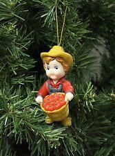 Campbell's Soup Farm Boy, Farming Christmas Ornament