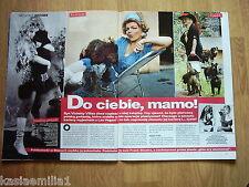 VIOLETTA VILLAS in Party 1/2011 Polish magazine