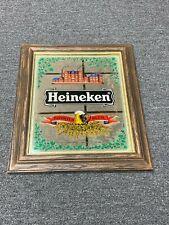 Heineken Imported Vintage Bar Mirror