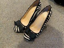 Kate Spade women's heels, size 9 B pony, zebra