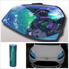100x30cm Chameleon Colorful Blue Car Headlight Tail Fog Light Vinyl Tint Film