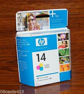 Genuine HP 14 (C5010D) (400 Page Yield) Tri-Color Ink Cartridge Sealed *EXPIRED
