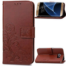 For Samsung Galaxy Models New Pattern Leather Magnetic Flip Wallet Case Cover