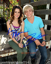 "Austin & Ally Disney Laura Marano & Ross Lynch 8x10"" reprint Signed Photo #3 RP"