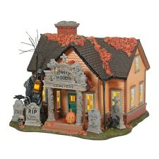 Dept 56 Halloween Village THE CEMETERY HOUSE 6005476 New 2020 Department 56 BNIB