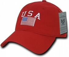 Usa American Flag Ball Cap High Quality Embroidering Us Military Hat Adjustable