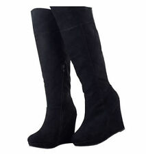 Wedge Wear to Work Knee High Boots for Women