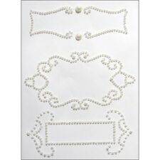 Want 2 Scrap - Nestabilities Self Adhesive Bling Gorgeous White Pearl Stickers!