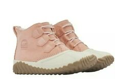 Women's Sorel Out N About Plus Boots Tonic Melon  Size 6.5 (pink/cream)