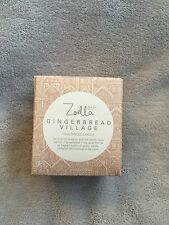 Zoella Lifestyle Gingerbread Village Fragranced Candle Brand New Christmas Gift
