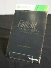 Fallout New Vegas Ultimate Edition - Bethesda - Xbox 360 Game Manual