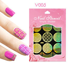 9 Tips/Sheet Nail Art Vinyls Stencil Stickers Ancient Coins Decoration Y005