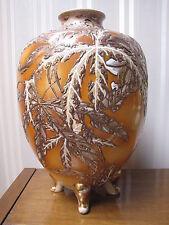 "Antique Satsuma Vase Hand Painted Japan 16"" Tall !!!!!!!!"