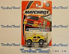 "2001 Matchbox #31 Sand Blasters Series (yellow) ""VOLKSWAGEN BEETLE 4x4""  R2"