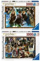 2 PUZZLE HARRY POTTER 1000 PIÈCES: Ravensburger 15170 + Ravensburger 15171