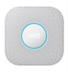 Google Nest Protect Battery Powered Smoke and CO Alarm S3000BWAU - White