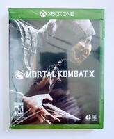 Mortal Kombat X Microsoft Xbox One Video Game Warner Bros Fighting New Sealed