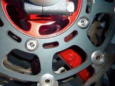 Kawasaki ZRX1200R 2001-2006 FRONT BRAKE ROTOR DISC BOLT KIT TITANIUM RACE SPEC