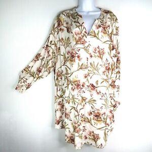 H&M V Neck Comfortable Dress Women's Plus Size 2XL NWT