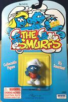 Smurfs Slouchy Smurfling 20402 Smurf Vintage Figure Rare Schleich PVC Toy Peyo