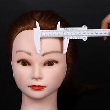 Platics Eyebrow Measure Caliper Microblading Gauge Brow Ruler Permanent Tool