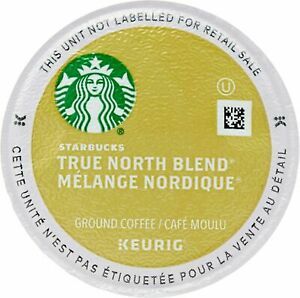 Starbucks 120 K-Cups True North Blend Veranda Coffee  EXP Below