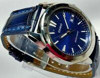 Casio Quartz Movement Analog Date Big Dial Mens Wrist Watch
