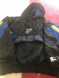 XL St. Louis Blues NHL Hockey Jacket Coat NHL Hockey Starter Jacket Coat