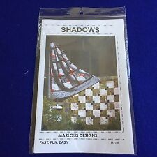 New Shadows MD18 Quilting Patterns From Marlous Designs Free Shipping