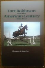 Nebraska Hist. Fort Robinson and the 20th Century - Cavalry - Sioux Indians