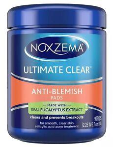 New Noxzema Ultimate Clear Anti Blemish Pads 90 Ct.