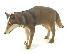 Japan Kaiyodo Furuta Japanese Wolf Miniature Animal Realistic Mini Figure