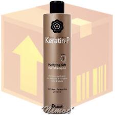 Purifying Soft Shampoo box 12 pcs KERATIN.P Biacrè ® Phase 1 Keratin & Collagen