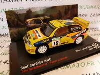 GA2D voiture 1/43 IXO altaya SEAT de Rallye : Cordoba jaune WRC repsol 1999