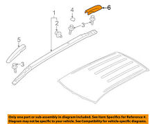 MITSUBISHI OEM Roof Rack Rail Luggage Carrier-Rear Cover Left 7661A179