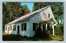 Easton MD, Third Haven Friends Meeting House, Maryland Chrome Postcard