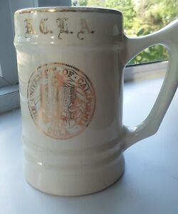 UCLA Mug Stein With Gold Emblem