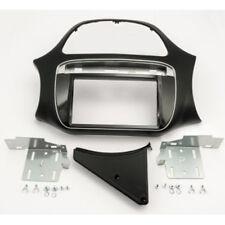 Fiat Punto EVO a partir de 2012 doble 2-din radio diafragma enmarcar radio diafragma negro