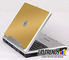 GOLD Vinyl Lid Skin Cover Decal fits Dell Inspiron 6000 Laptop