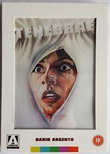Tenebrae DVD - Slipcase - Dario Argento - Region Free Out of Print - Arrow Video