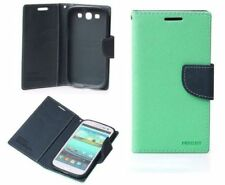 Fundas con tapa Para Samsung Galaxy S5 color principal azul para teléfonos móviles y PDAs