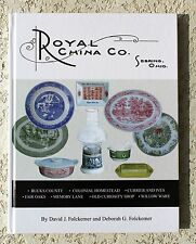 Royal China Sebring Ohio dinnerware book Currier and Ives Colonial Homestead Old