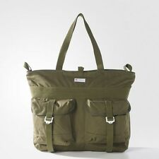 ADIDAS Originals shopping travel bag AY8668 borsa borsone verde oliva BNWT