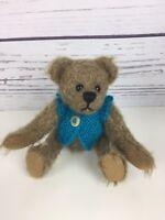 """Chayden Bears Elsie Mae OOAK Handmade Mini Mohair Artist Teddy Bear 5""""& Clothes"""