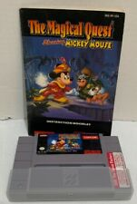 Magical Quest starring Mickey Mouse (Super Nintendo Entertainment System, 1992)