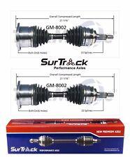 For Chevrolet GMC K1500 Suburban K3500 4WD 2 Front CV Axle Shafts SurTrack Set